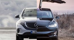 Match: The Mercedes EQC versus Tesla Model X