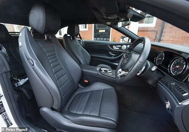 Man buys used E-Class Cabriolet and finds out leather seats are actually plastic