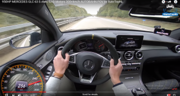 Just like a LaFerrari: Meet the Mercedes-AMG GLC 63 with 950 hp