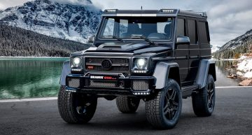 LIVE from Geneva 2019: Brabus 850 6.0 Biturbo 4×4² Final Edition