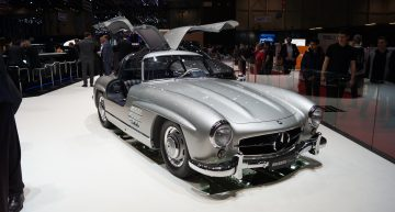 LIVE from Geneva 2019: Brabus modifies the iconic Mercedes-Benz 300 SL Gullwing