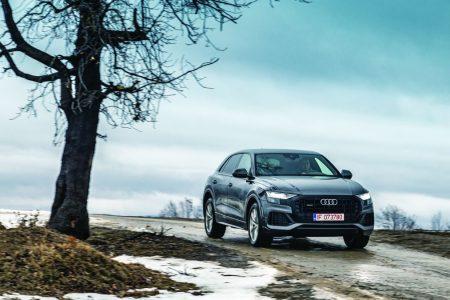 Comparison test Audi Q8