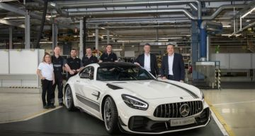 The new Mercedes-AMG GT enters production. When will it hit the showrooms?