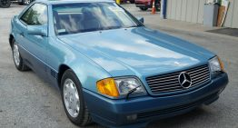 Incredible story: Stolen Mercedes-Benz SL 500 recovered 27 years later