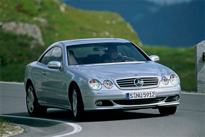 Mercedes-Benz CL of the C 215 model series – Innovation from two decades ago