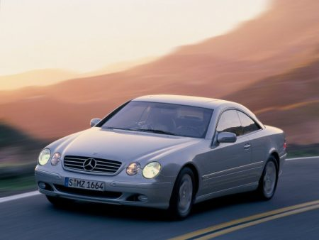 Mercedes-Benz CL of the C 215 model series (3)