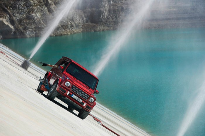Stronger than Gravity. The G-Class defies the laws of physics