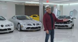 Meet the man who owns five Mercedes-Benz SLR McLaren-s