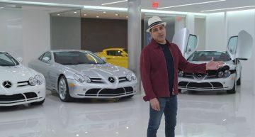Meet the man who owns five Mercedes-Benz SLR McLaren-s