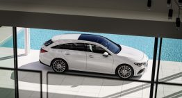 Mercedes starts production of the new CLA Shooting Brake in Hungary