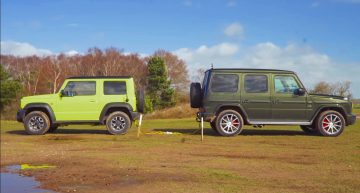 How many Suzuki Jimny-s do you need to beat a G-Class?