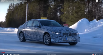 New spy video: Next Mercedes-Benz C-Class set to launch next year