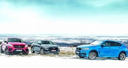 Super comparison test: Mercedes-Benz GLE Coupe vs the new Audi Q8 and BMW X6