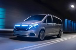 LIVE from Geneva 2019: Mercedes-Benz EQV electric van with 400 km range