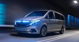LIVE from Geneva 2019: Mercedes-Benz EQV electric van with 400 km range