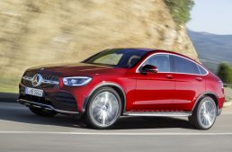 New York Autoshow: Mercedes-Benz GLC Coupe updated for 2019