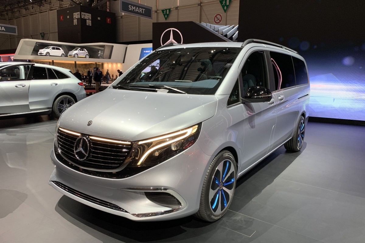 Live From Geneva 2019 Mercedes Eqv Concept With 8 Seats