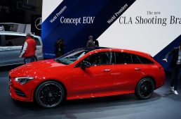 LIVE from Geneva 2019 – How much space is in the new Mercedes-Benz CLA Shooting Brake?