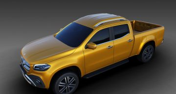 Mercedes-Benz X-Class pickup gets extended flatbed variant