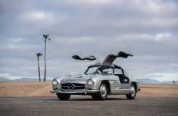 Maroon 5's vocalist Adam Levine auctions off his Mercedes-Benz 300 SL Gullwing