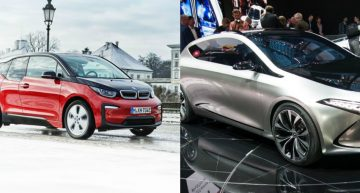 BMW and Mercedes plan common platform for compact electric models: BMW i2 and Mercedes EQA