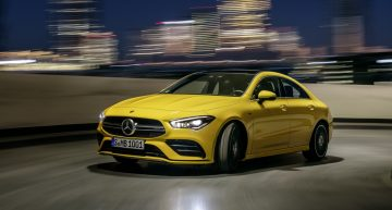 This is it! Mercedes-AMG CLA 35 4Matic goes official, heading to NY Auto Show
