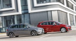 MPVs are still cool: Mercedes B 200 d vs. BMW 218d Active Tourer van test