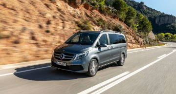 First test Mercedes-Benz V-Class facelift: More power, more luxury