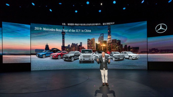 Shanghai 2019 – This is what Mercedes-Benz is showing in China