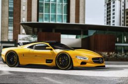 What if the Mercedes-Benz CLK GTR looked like this?