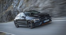 First test Mercedes CLA 2019: Chic four-door coupe gains new tech