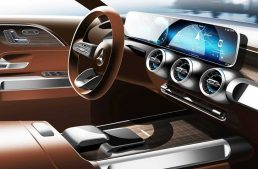 Mercedes-Benz GLB to debut in concept guise at Shanghai Auto Show – first interior picture