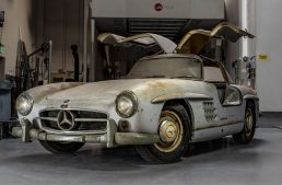 Barn find: 1954 Mercedes-Benz 300 SL Gullwing in original condition
