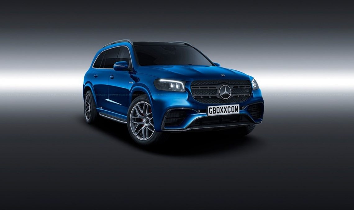 This is how the Mercedes-AMG GLS 63 will (most likely) look like