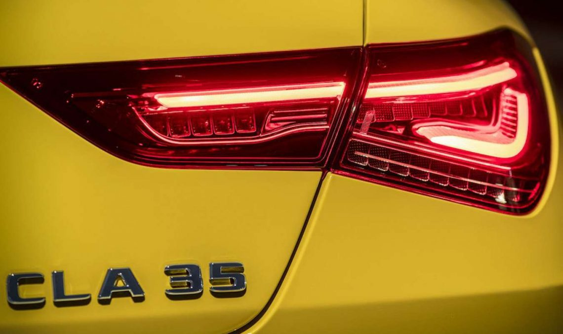 First official teaser: Mercedes-AMG CLA 35 gets ready for Spring debut