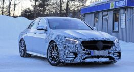 Spy pics: Mercedes-AMG E 63 facelift caught for the first time