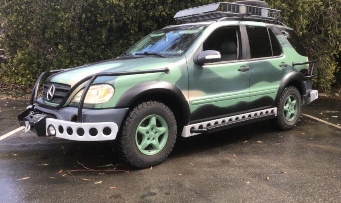 Jurassic Park inspired Mercedes-Benz ML for sale on ebay