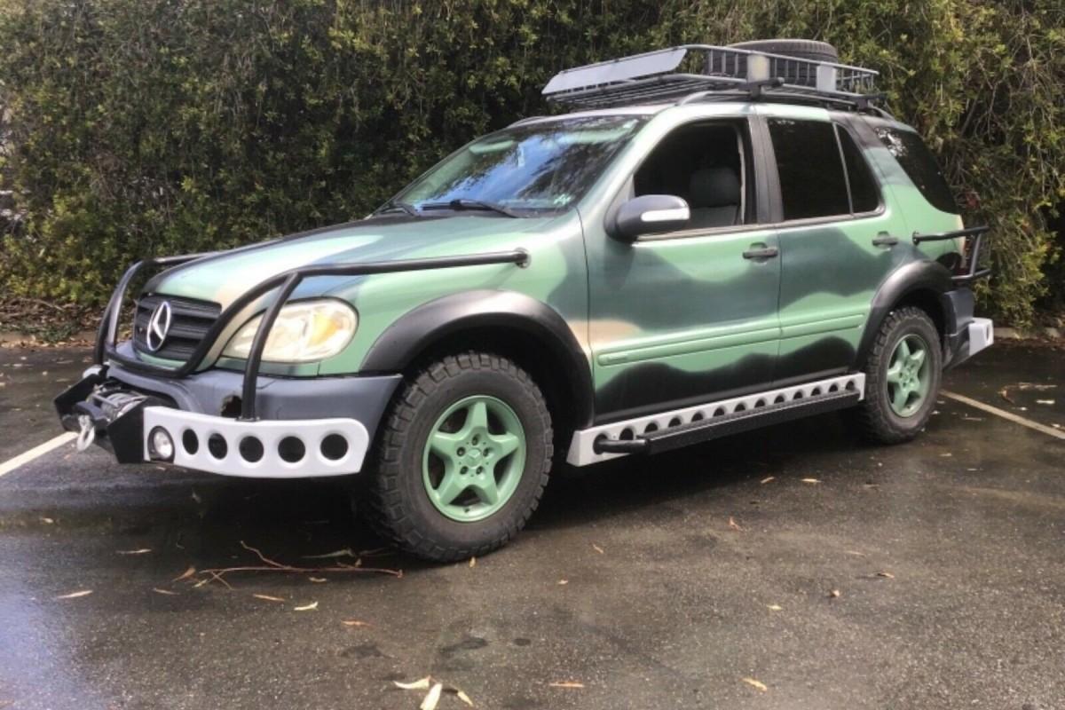 Jurassic Park Inspired Mercedes Benz Ml For Sale On Ebay Mercedesblog
