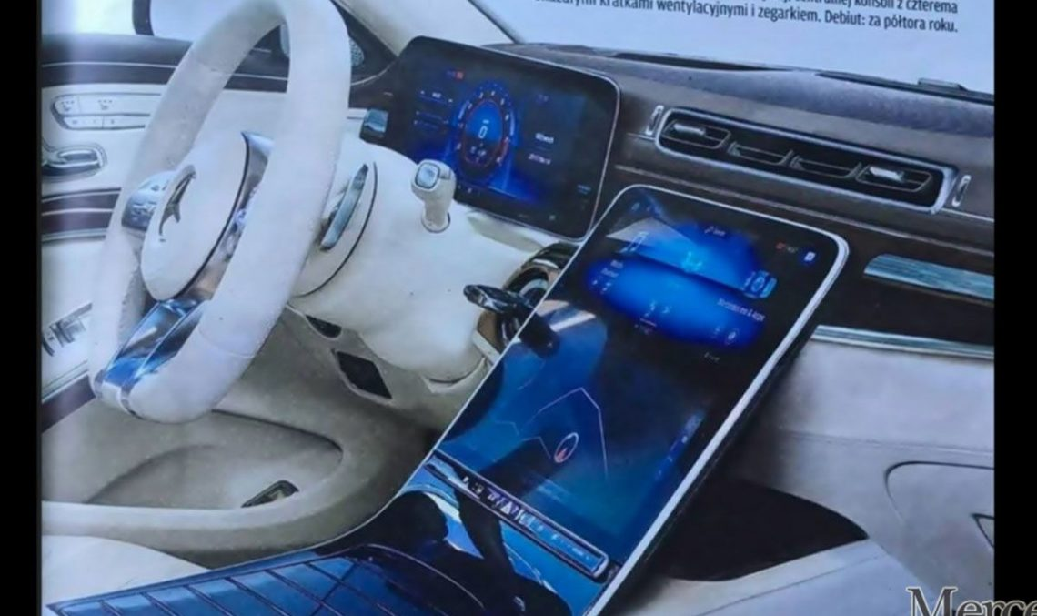 2020 Mercedes S-Class: Is this the interior of the all-new luxury flagship?