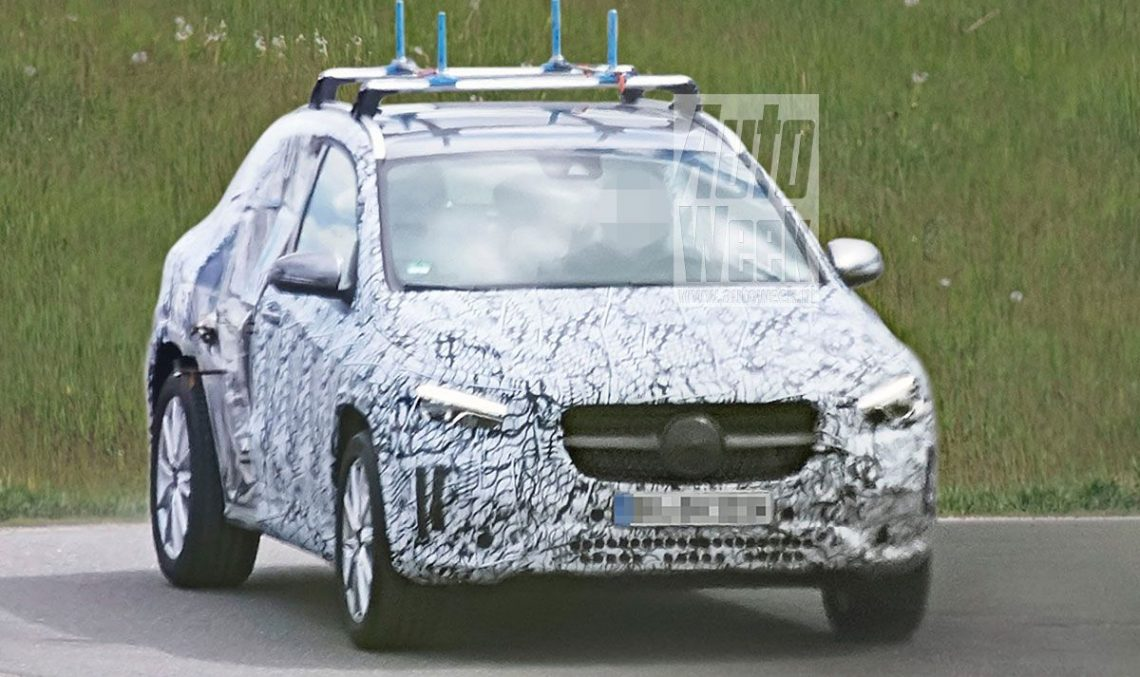 The new Mercedes-Benz GLA will debut this autumn, in Frankfurt