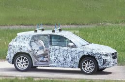 Scoop! All-new 2020 Mercedes GLA caught for the first time