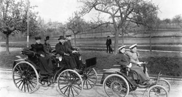 The world's first mass production automobile – the Benz Motor Velocipede