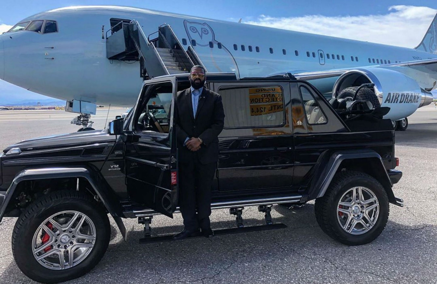 He Is The Owner Of The Only Mercedes Maybach G650 Landaulet In North America