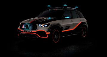 The new Mercedes-Benz GLE becomes the Experimental Safety Vehicle
