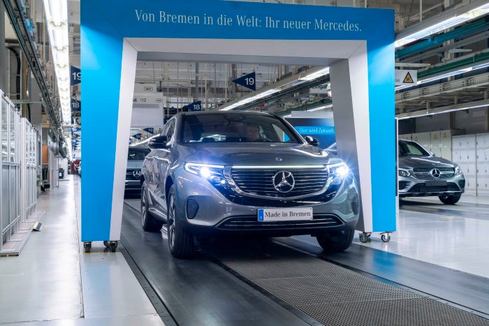 Mercedes-Benz EQC enters series production. How much does it cost?
