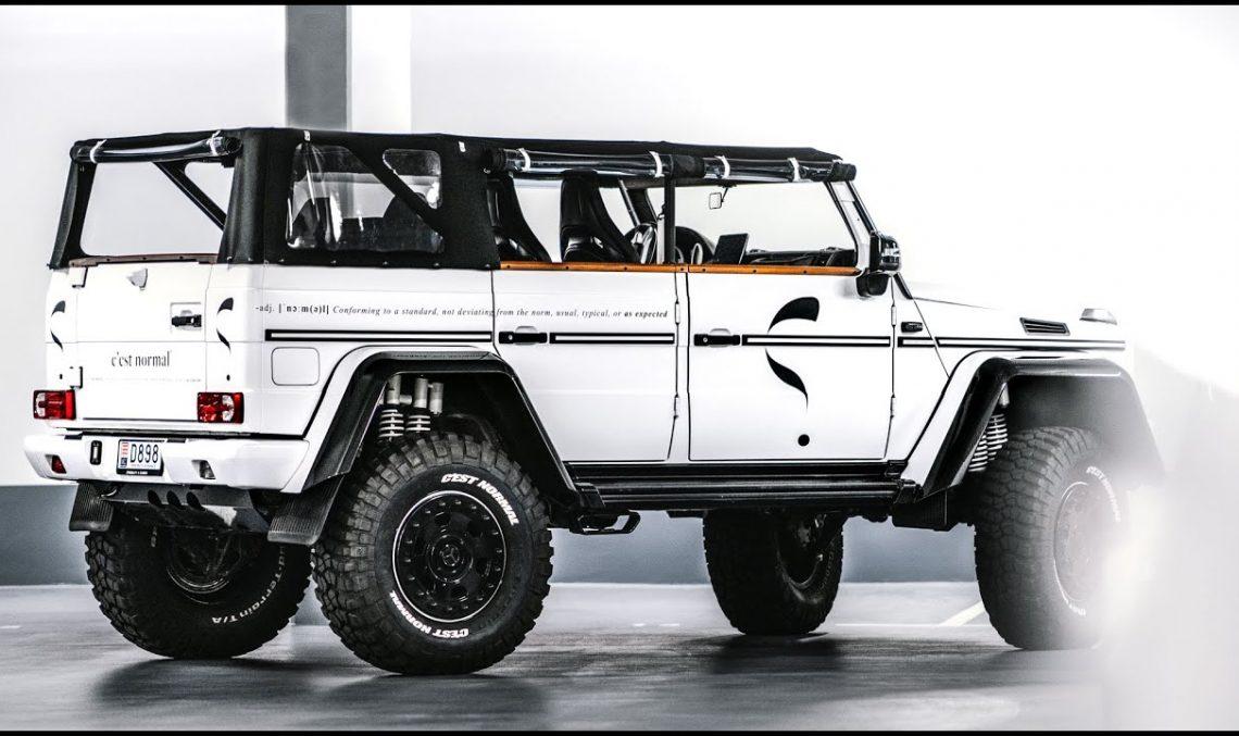 Mercedes-Benz G500 4×4² 'Safari' Convertible – Meet Lord Hans