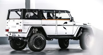 Mercedes-Benz G500 4×4² 'Safari' Convertible – Meet Lord Hans