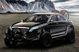 Brabus Mercedes S-Class – As ridiculous as can be