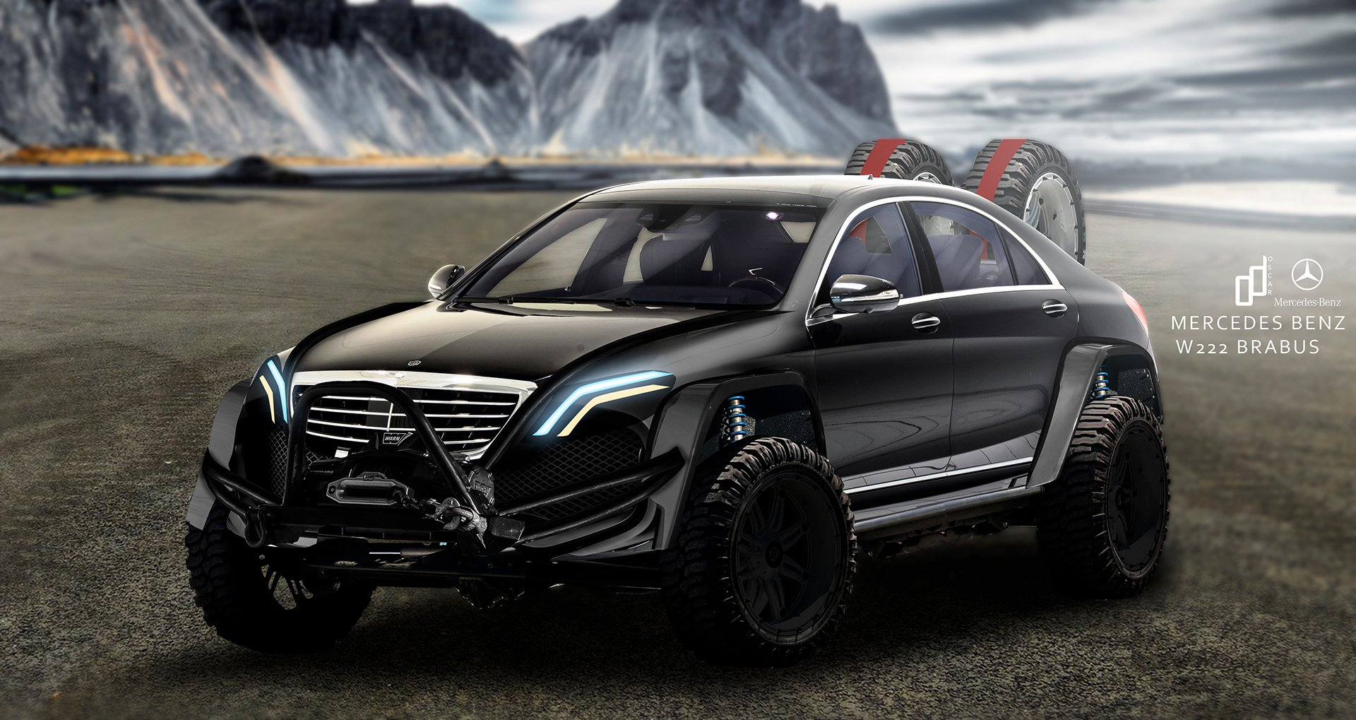 Mercedes Benz Of Boston >> Brabus Mercedes S-Class - As ridiculous as can be