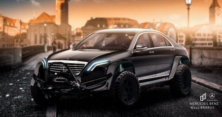 Mercedes-Benz S-Class Brabus render (4)